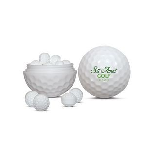 Golf Ball Sweets Container